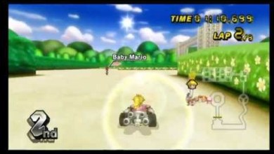 Photo of Mario Kart Wii Vídeo: Peach Garden