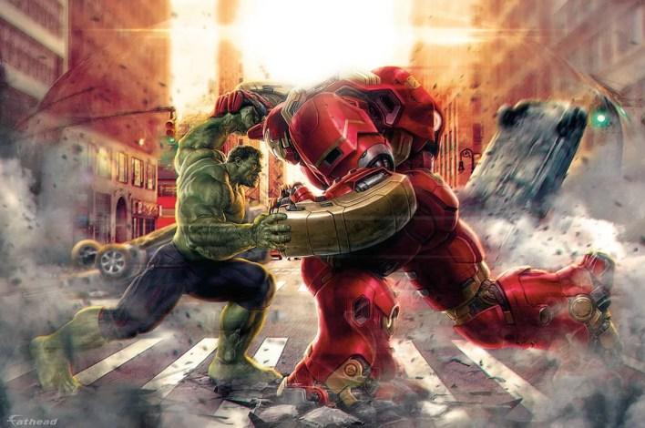 Avengers Age of Ultron hulk hulkbuster