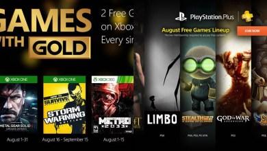 Photo of Gold & Plus | Os games gratuitos de agosto/2015! (atualizado)