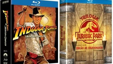 Photo of Descontos | Jurassic Park, Indiana e Box de DVDs, BDs e Livros!