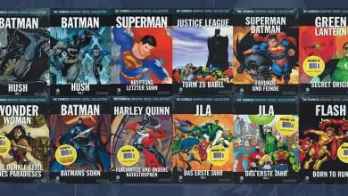 Foto de Aê! Coleção Eaglemoss de Graphic Novels da DC está oficializada!