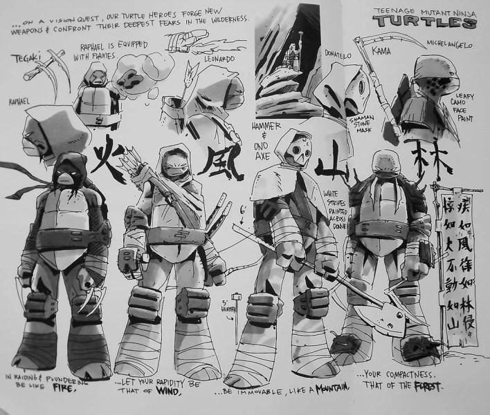 O caderno de esboço dos personagens da série são animais! Eu ainda quero fazer uma grande galeria só com estes esboços aqui no site!