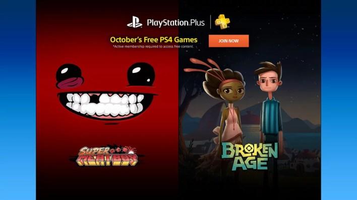 PlayStation Plus Outubro 2015