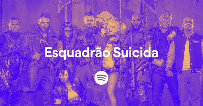 Esquadrao Suicida Spotify