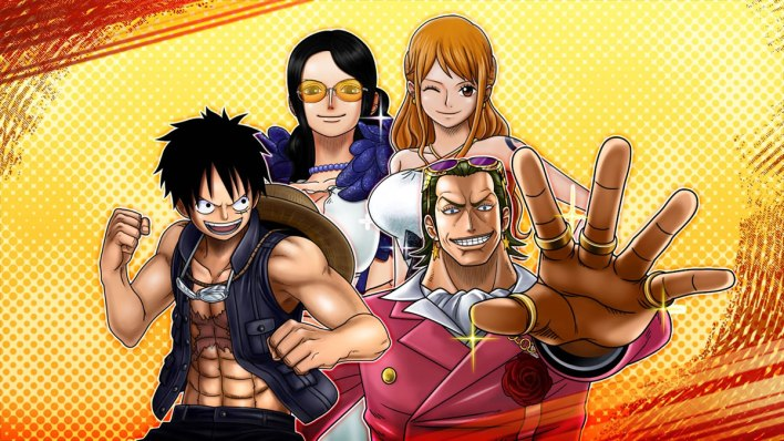 One Piece Burning Blood Pack 1 Gold
