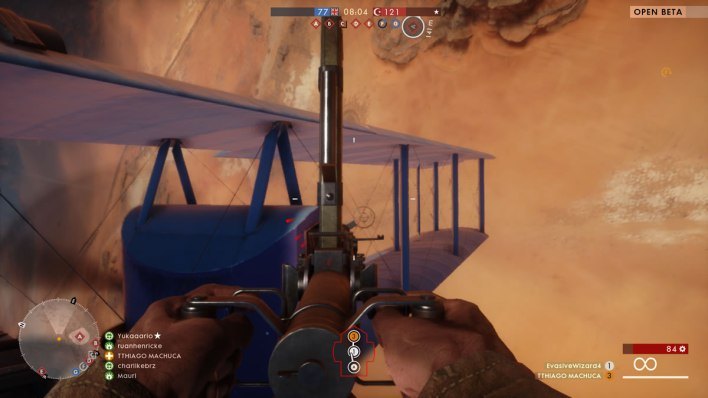 Beta aberto de Battlefield™ 1