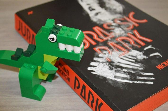 Jurassic Park - Livro (Lego)