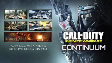 Photo of DLC Continuum de Call of Duty: Infinite Warfare já está disponível (PS4)