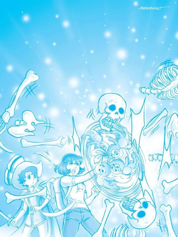 Turma da Monica Jovem 4 e Osamu Tezuka 003
