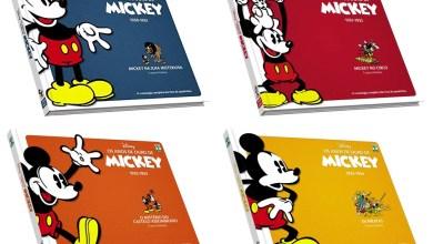 Foto de Os Anos de Ouro do Mickey com um bom desconto para começar a coleção…