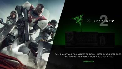 Foto de Razer e Bungie anunciam periféricos de Destiny 2