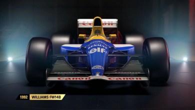 Photo of F1 2017 terá dois carros clássicos da Williams