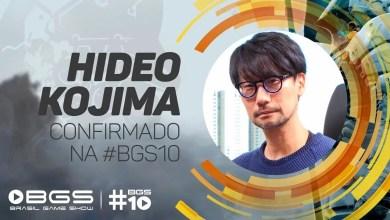 Foto de Hideo Kojima vem ao Brasil pela primeira vez para participar da Brasil Game Show