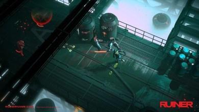Foto de RUINER, shooter cyberpunk, desliza e explode nos consoles e PC em setembro