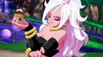 Dragon Ball FighterZ - Androide 21 - Hungry_Time_4