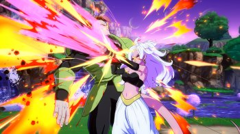Dragon Ball FighterZ - Androide 21 - Tasting_Cut_1