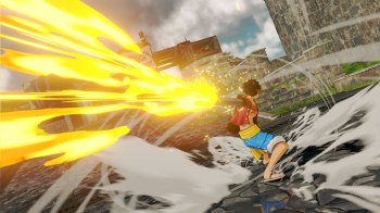 One Piece World Seeker - Screenshots_Red_Hawk