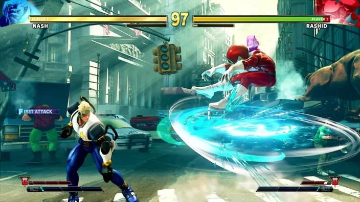 Street Fighter V Arcade Edition - Extra Battle 1 Rashid VJ