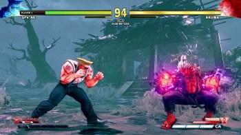 Street Fighter V Arcade Edition - Extra Battle 5 Shin Akuma