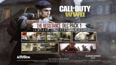 Photo of Primeiro DLC de Call of Duty: WWII, A Resistência já disponível no PS4