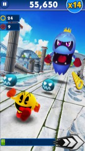 Pac-Man x Sonic Dash 001