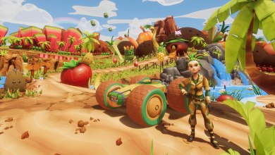 Photo of Muitas frutas e corridas em karts para All-Star Fruit Racing