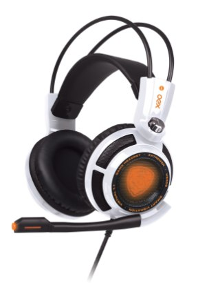 Headset SHIELD (branco, na embalagem)