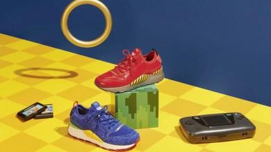 Foto de Nova linha de tênis RS-0 da Puma tem parceria com a Sega