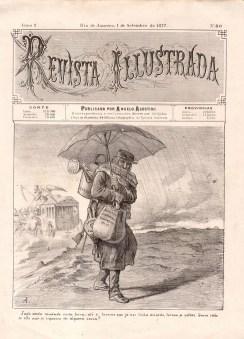 Revista Illustrada 80 com capa de Angelo Agostini