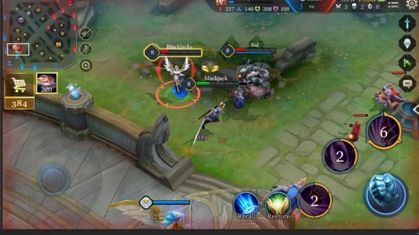 Arena of Valor Battle Screen 3