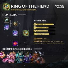 Arena of Valor Battlefield Reborn - ring of the fiend