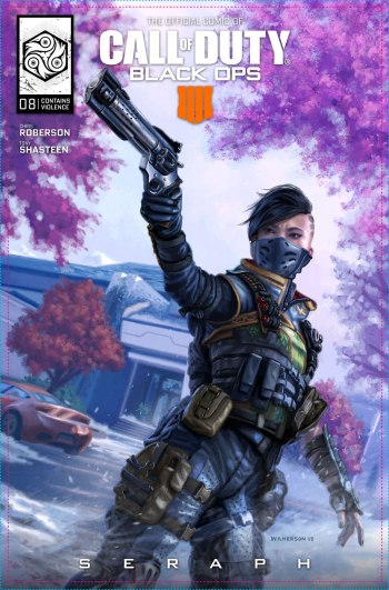 Call of Duty Black Ops 4 Comic Capa 08 Seraph