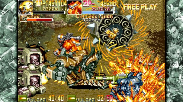 Capcom Beat'em Up Bundle - Powered_Gear_Armored_Warriors_1