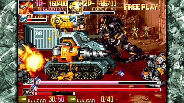 Capcom Beat'em Up Bundle - Powered_Gear_Armored_Warriors_2
