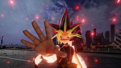 Photo of Yugi Muto compra a mão de cartas perfeita em trailer de Jump Force
