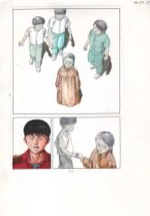 Akira Guia de cor - Cores de Steve Oliff sobre desenho de Katsuhiro Otomo 1988