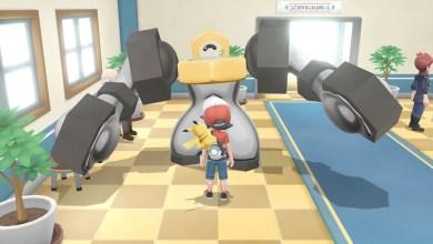 Foto de Melmetal, a evolução do Pokémon mítico Meltan foi descoberto