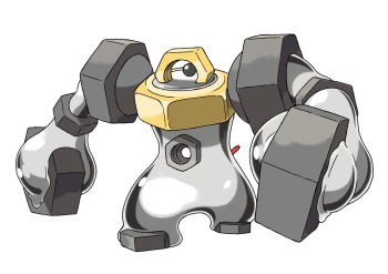 Melmetal Official Art