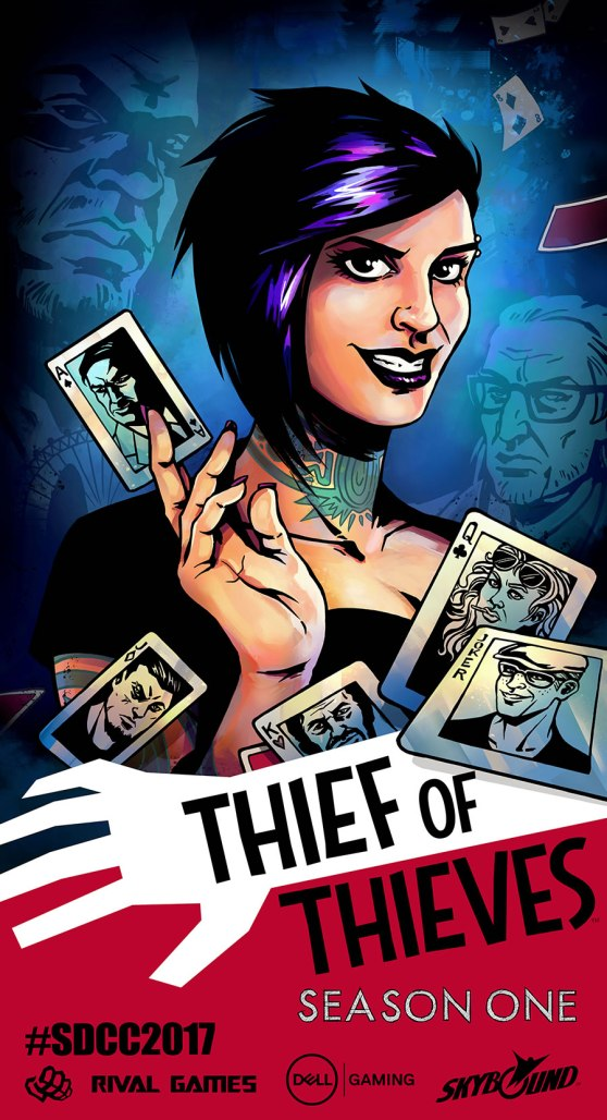 Thief of Thieves S1 poster