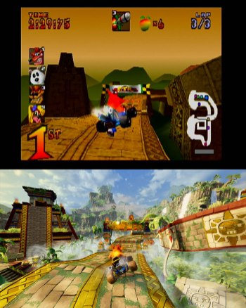 Crash Team Racing Nitro-Fueled Comparacao 2