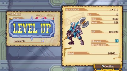 Dragon Marked for Death levelup