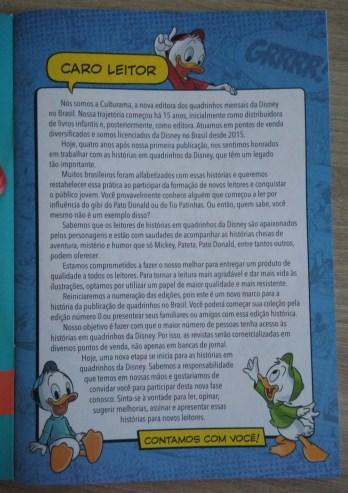 Pato Donald Ed Zero - Culturama - 02