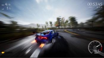 Dangerous Driving - Blue_Coupe_Drift_1