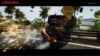 Dangerous Driving - Yellow_supercar_Crash
