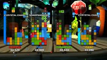 Crystal Crisis - Four player mode