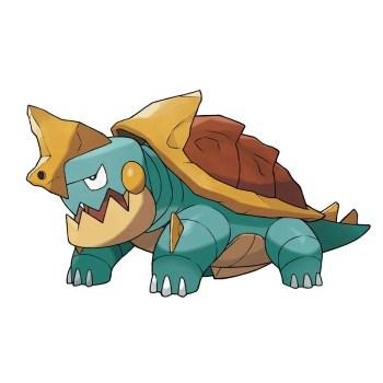 Pokemon Sword Shield - Drednaw_Torgamord_Kamalm