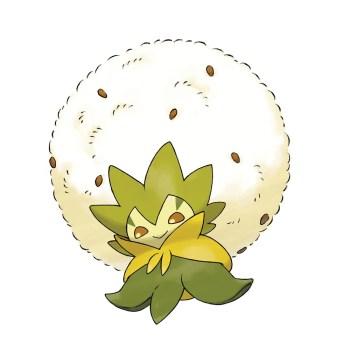 Pokemon Sword Shield - Eldegoss_Blancoton_Cottomi