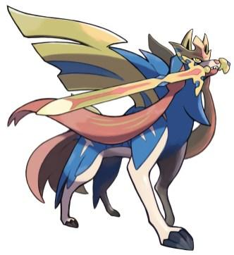 Pokemon Sword Shield - Package_Zacian