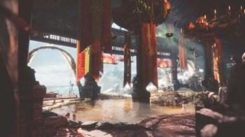 Monster Hunter World Iceborn - Seliana-Gathering-Hub -Hot Spring