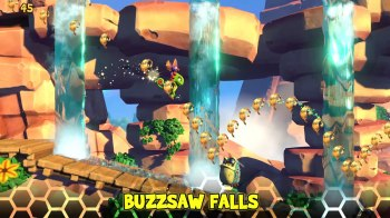 Yooka-Laylee and the Impossible Lair - Buzzsaw Falls
